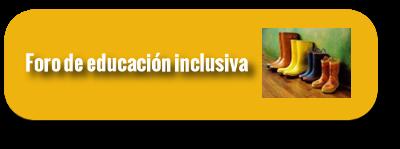 Foro de educación inclusiva