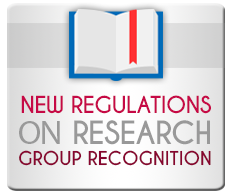 New regulations on research group recognition